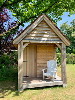 Cabane de jardin à ossature chêne