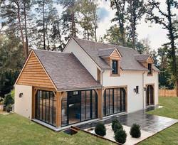 Maison 100% structure en chêne