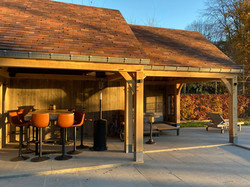 Poolhouse terrasse couverte