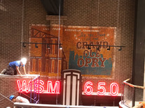 Mural for Opry City Stage