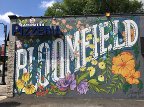 Mural for Bloomfield Township