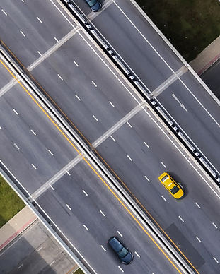 Taxi On Road