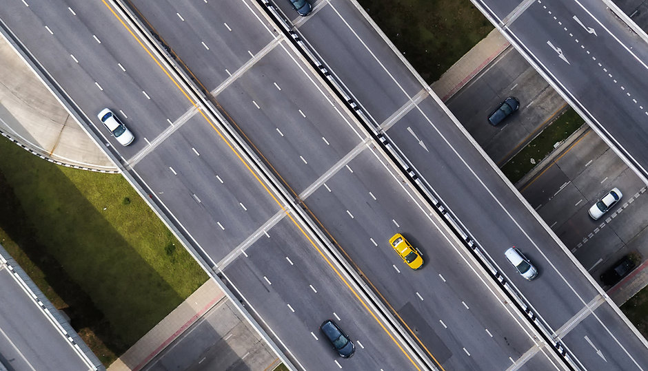 Taxi On Road Header