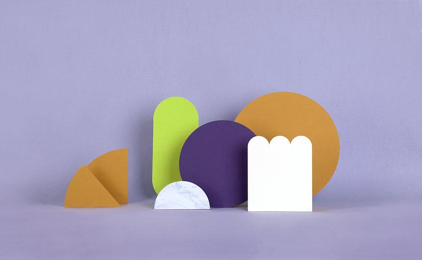 紫色紙結構