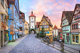 ドイツのタウバーの家