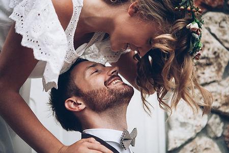 Boho Hochzeitspaar
