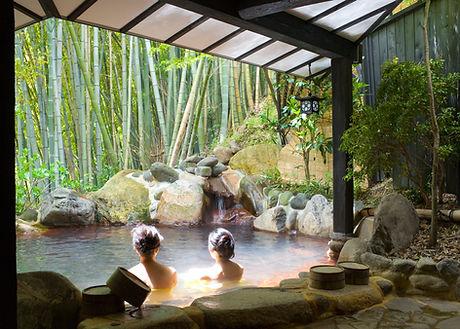 Bamboo Spa Pool
