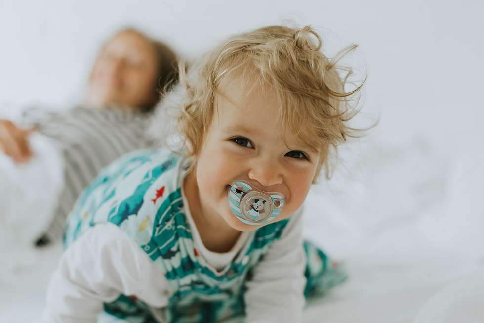 Kid with Pacifier