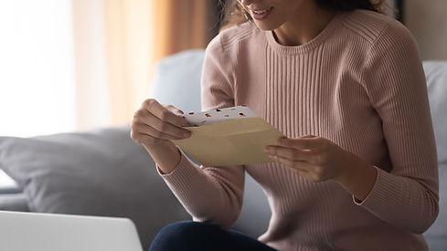 Recieving a Letter