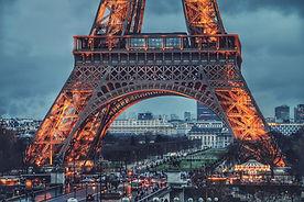 Tour Eiffel en soirée