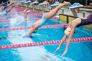 Carrera de natación