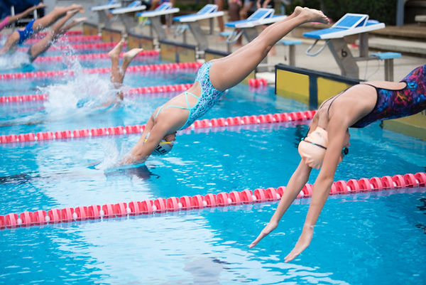 Compétition de natation