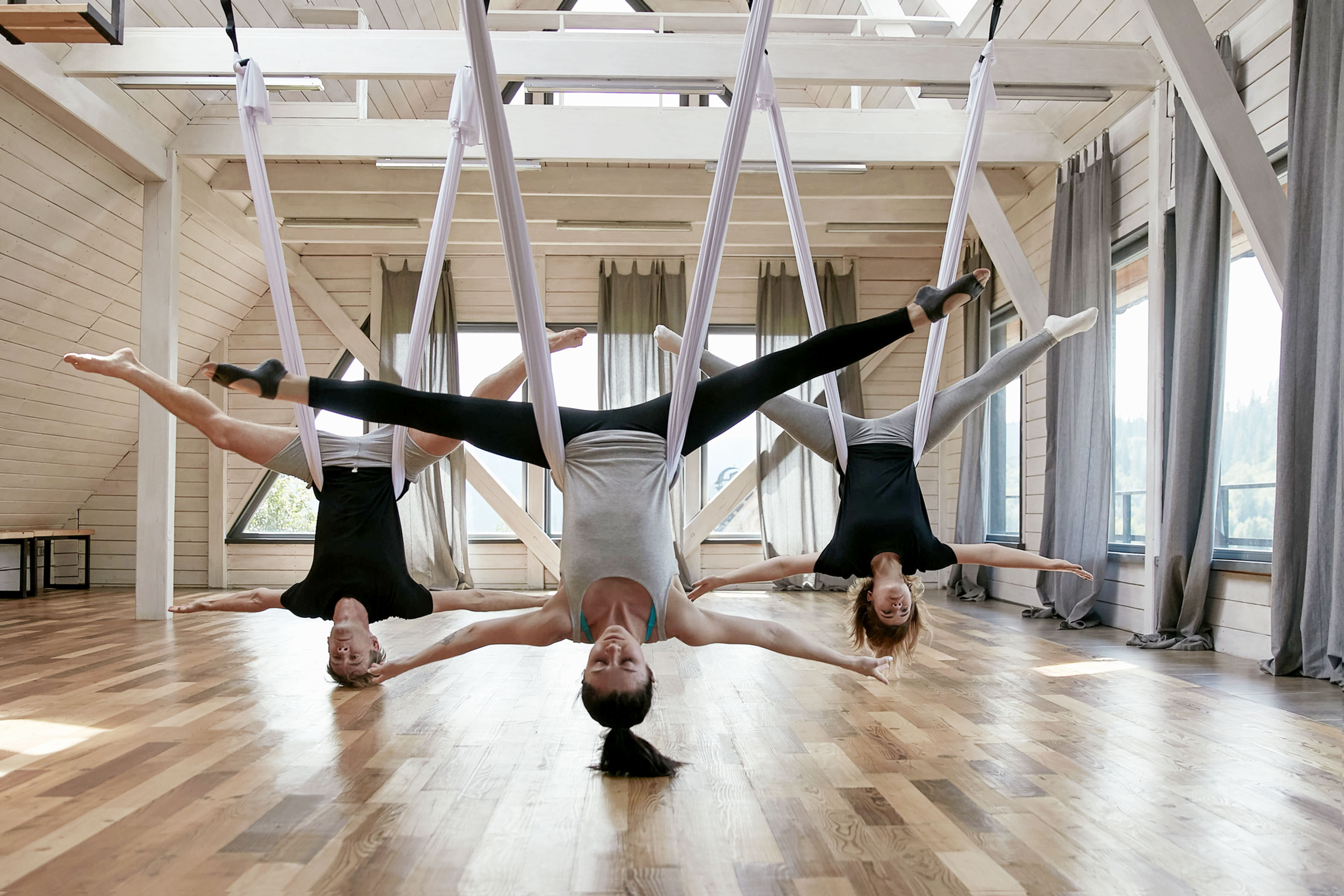 Private Parent and Kids Aerial Class