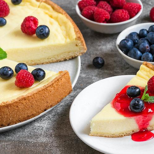 Cheese cake et son palet Breton