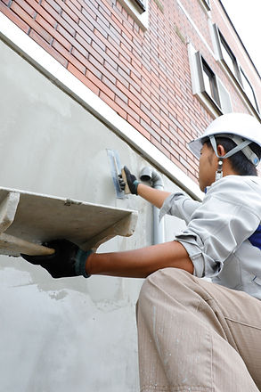 Cementing Exterior Wall