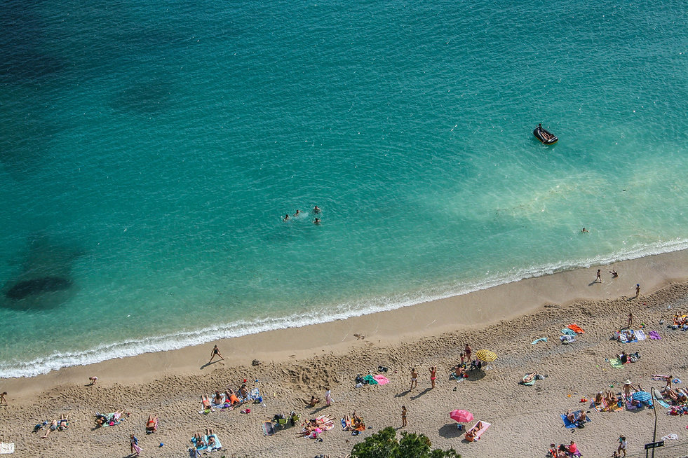 Jour d'été sur la plage