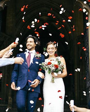 Casal recém casado