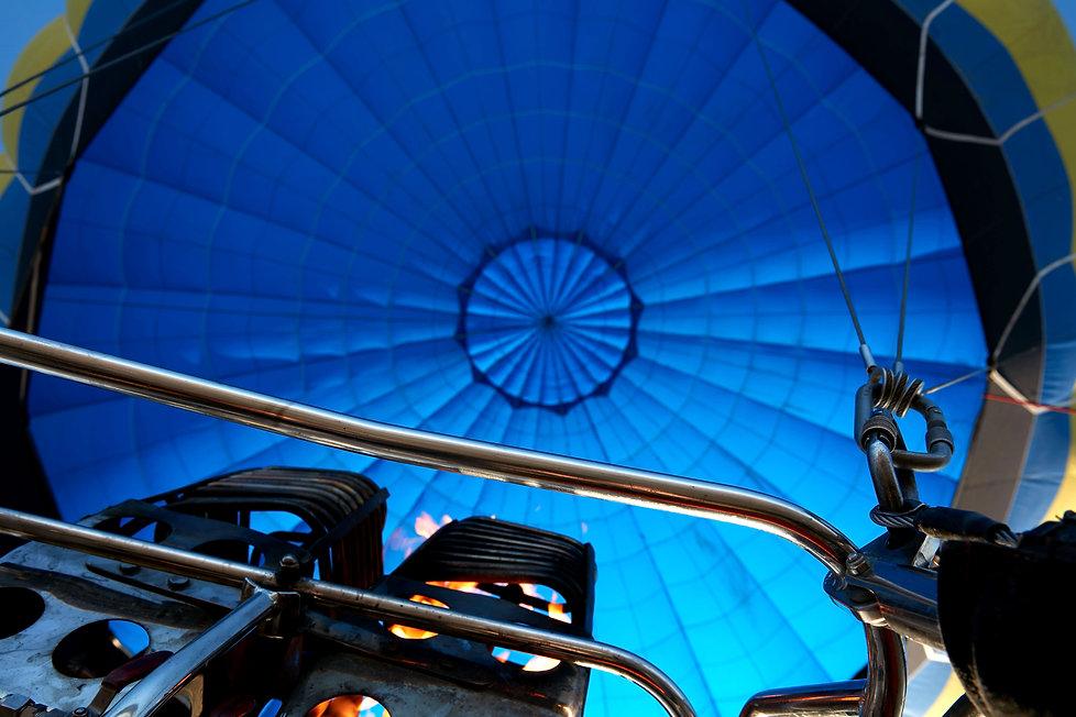 Inside of Hot Air Balloon