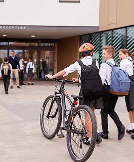 Arriving At School