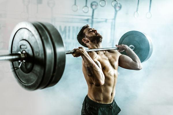 Levantador de peso pesado