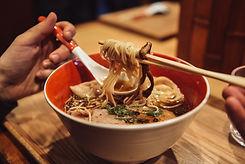 Eating Ramen