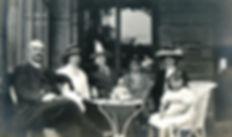 Ritratto di famiglia vintage