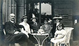 Portrait de famille vintage