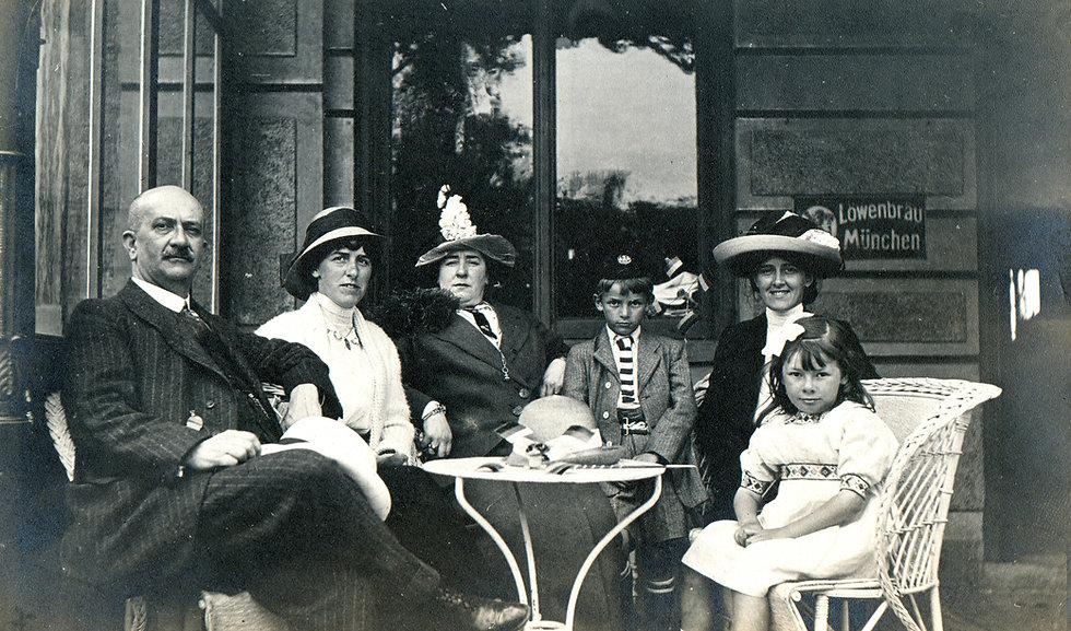 Vintage Family Portrait