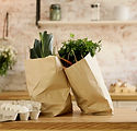 Vegetables in Paper Bags