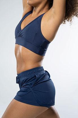 블루 운동복