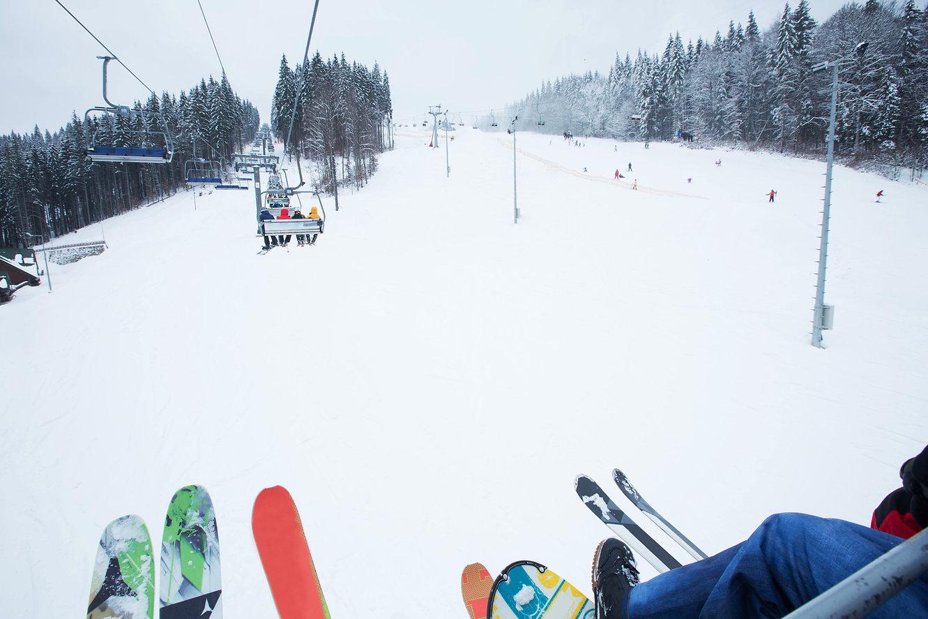 Ski Lift at Ski Resort