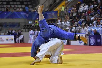 Sportif de haut niveau, Compétition de judo