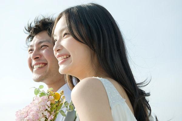 Happy Couple safe time choosing destination wedding planner