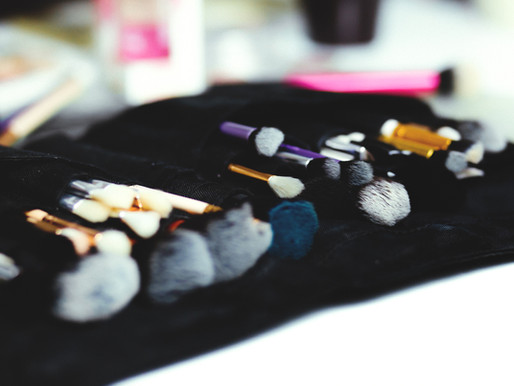 A Daring Eyeshadow Application Using Colour