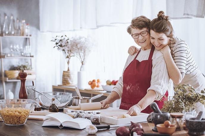 Cooking wiith Grandma