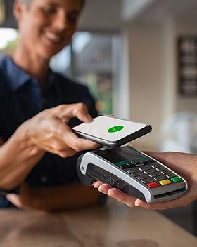 Betalen met een telefoon
