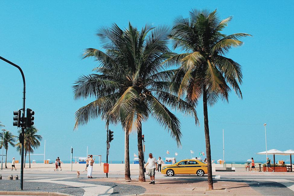 Street by the Beach