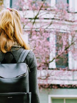 Bostanten Leather Backpack