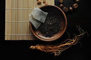 chá de ervas