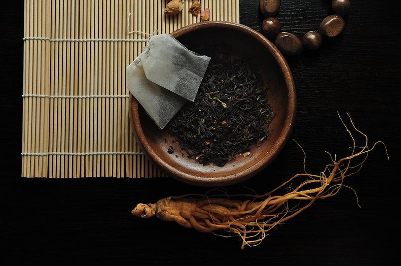 thé aux herbes