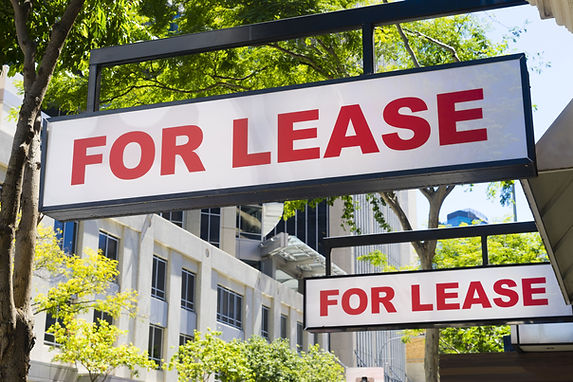 For Lease Sign