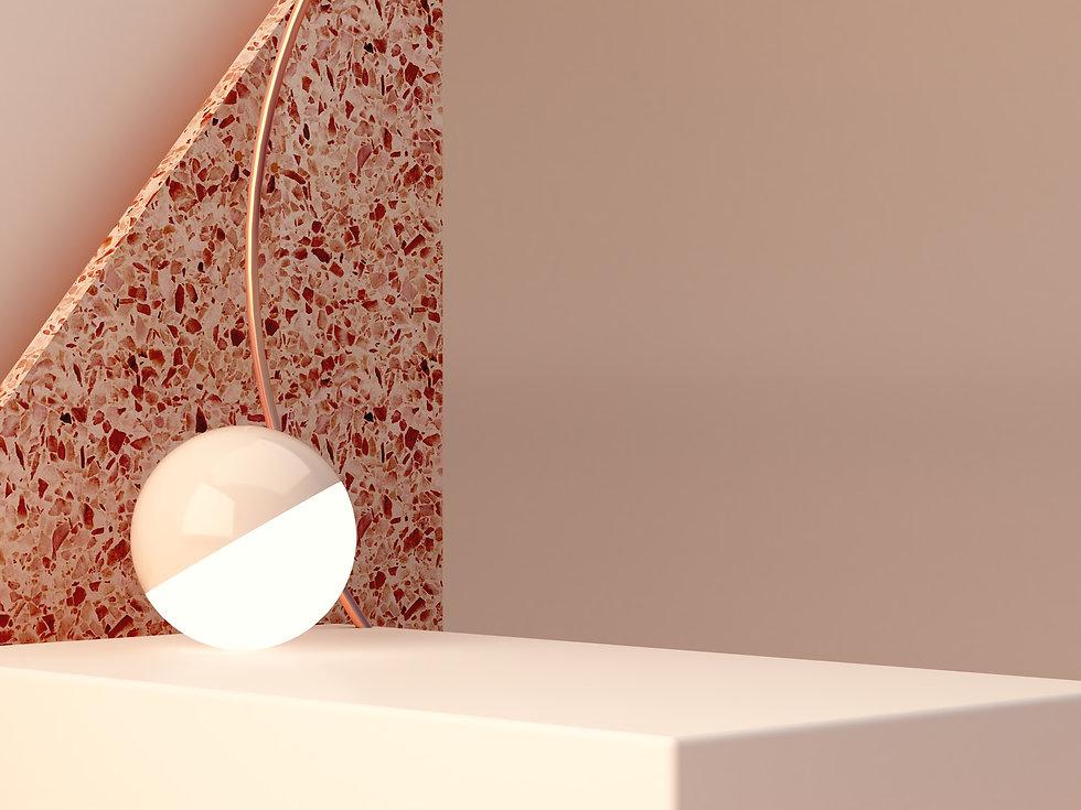 Sphere on Podium
