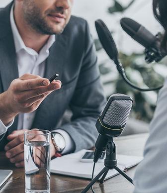 Intervista radiofonica