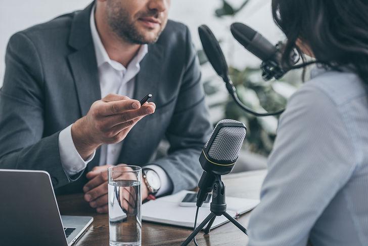 라디오 인터뷰