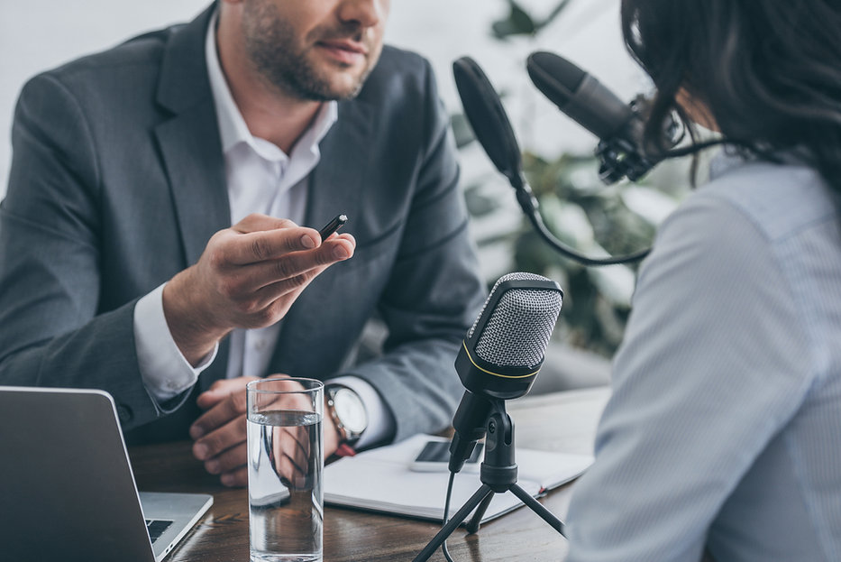 How to get a television interview