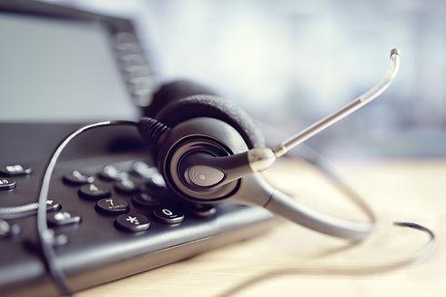 ชุดหูฟังของ Call Center