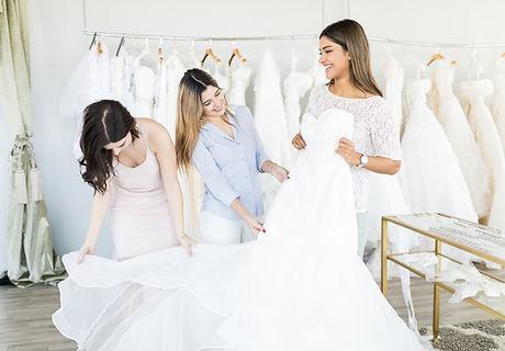 Shopping robe de mariée