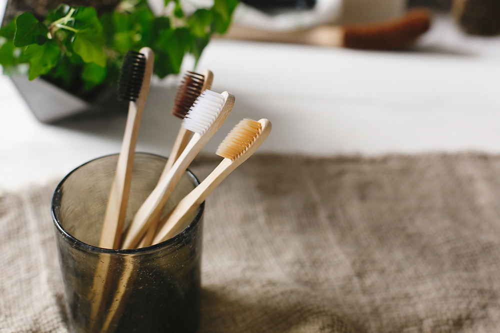 sustainable bamboo toothbrush
