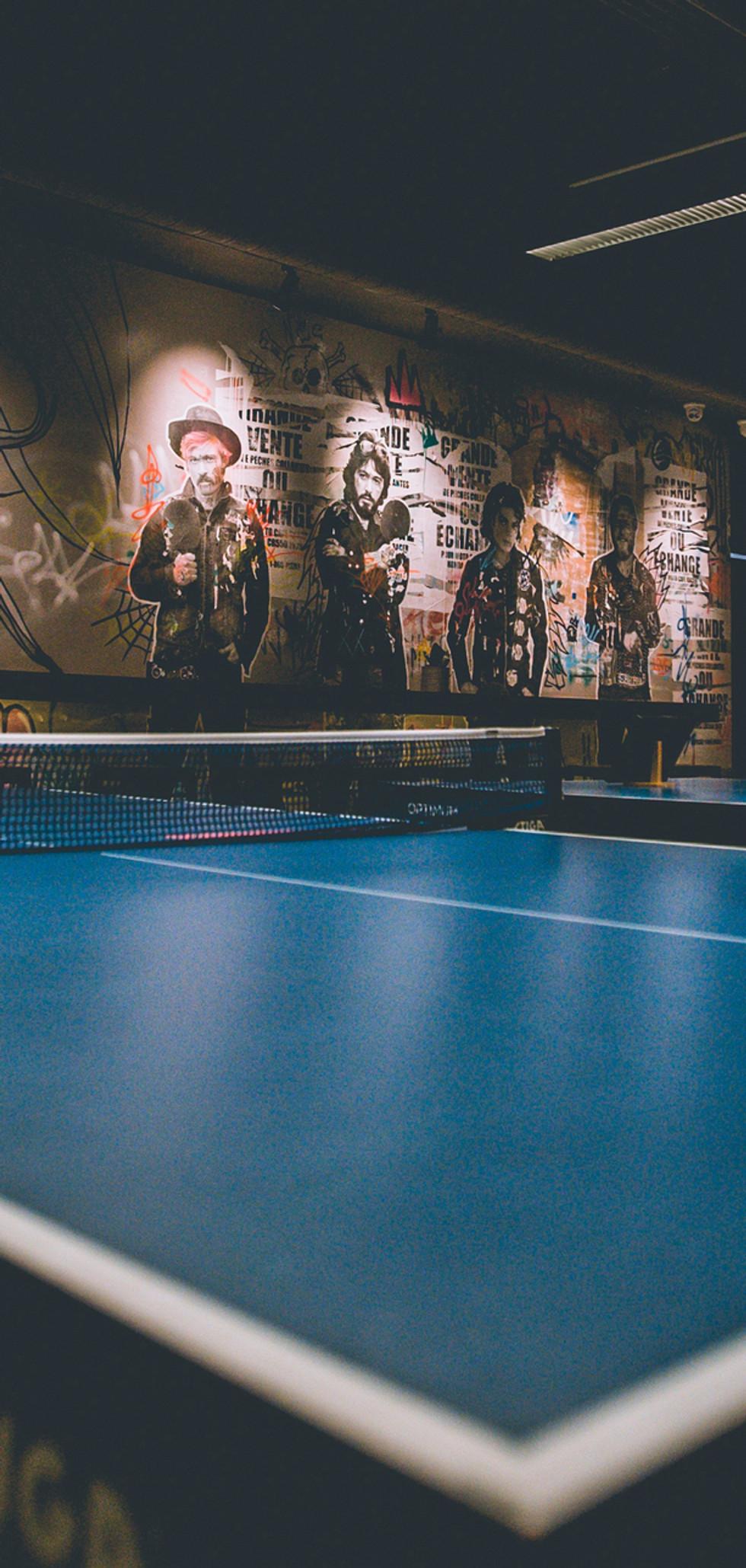 Club ping pong
