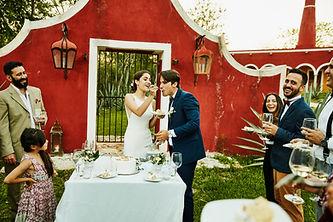 Eating Wedding Cake